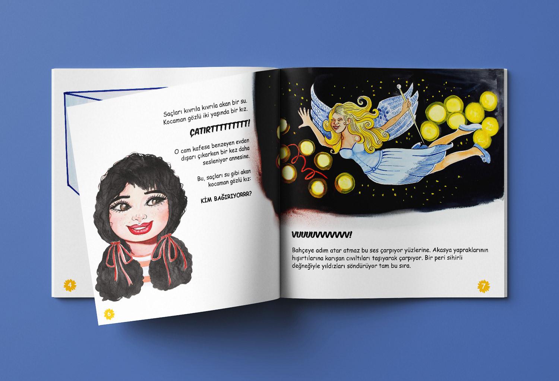 Hikaye Kitabı Tasarımı